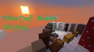 Скачать Ultra Craft Modern HD для Minecraft